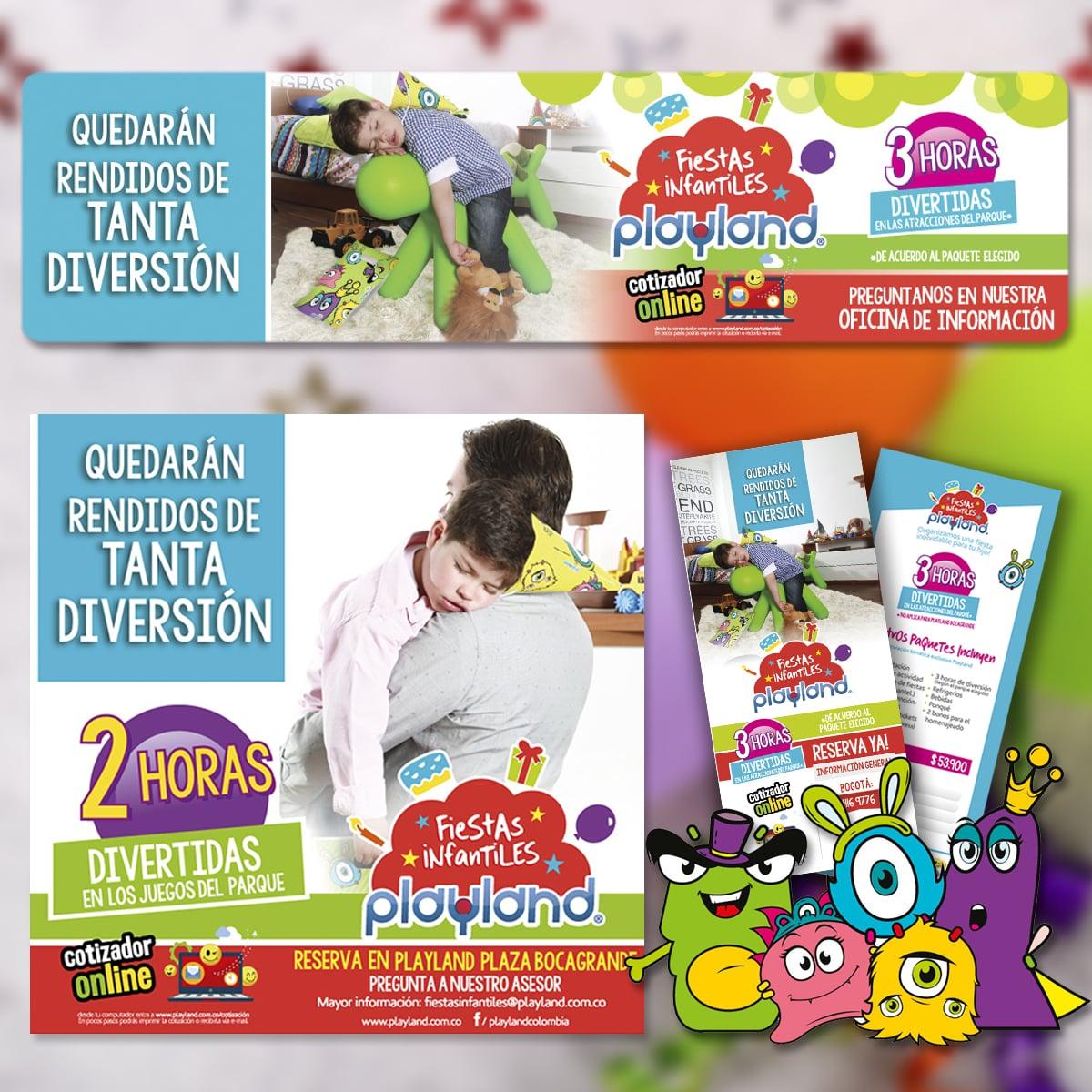 Campaña Fiestas Infantiles